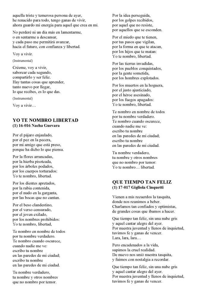 LA SOLIDARIDAD... Nº 8 Letras de canciones..._Página_13