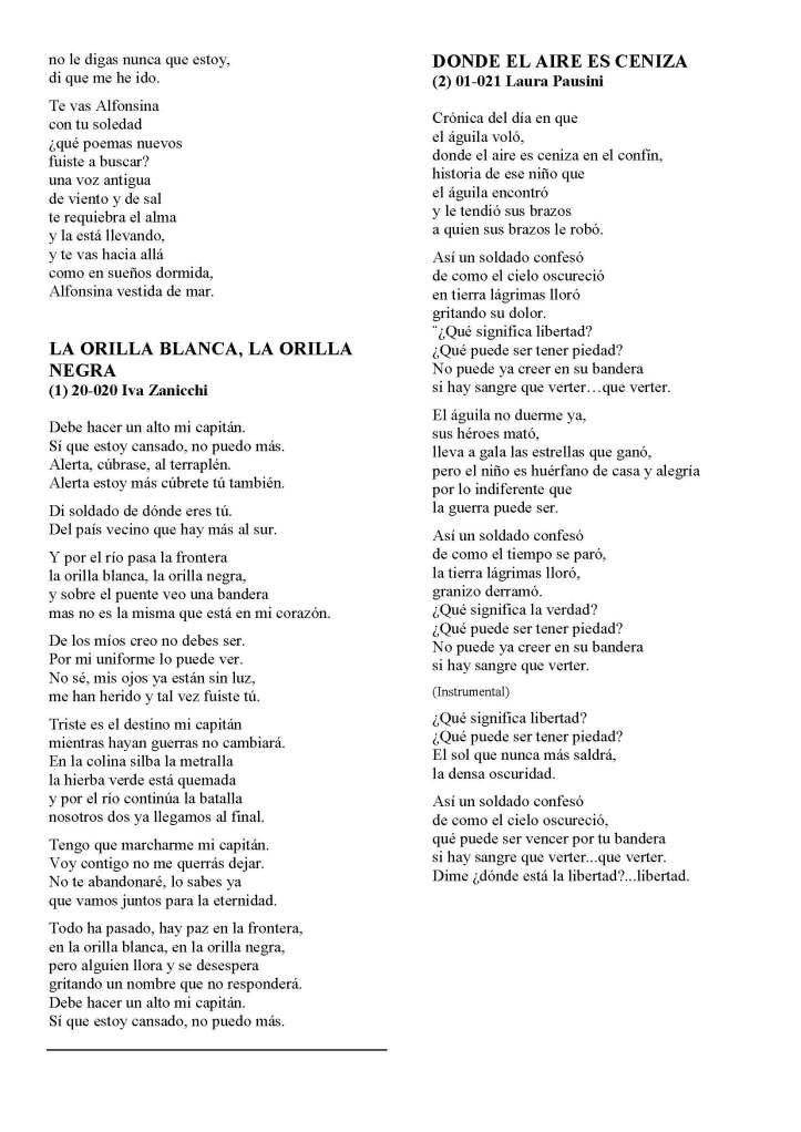 LA SOLIDARIDAD... Nº 8 Letras de canciones..._Página_15