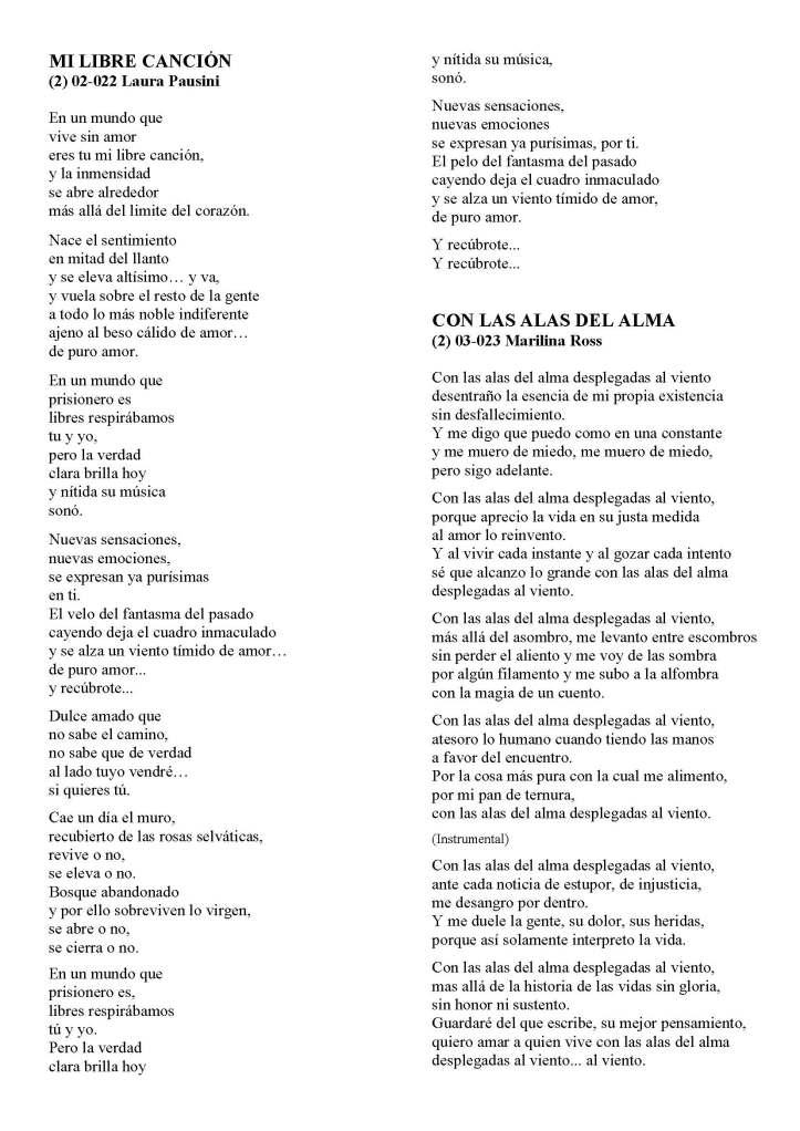 LA SOLIDARIDAD... Nº 8 Letras de canciones..._Página_16