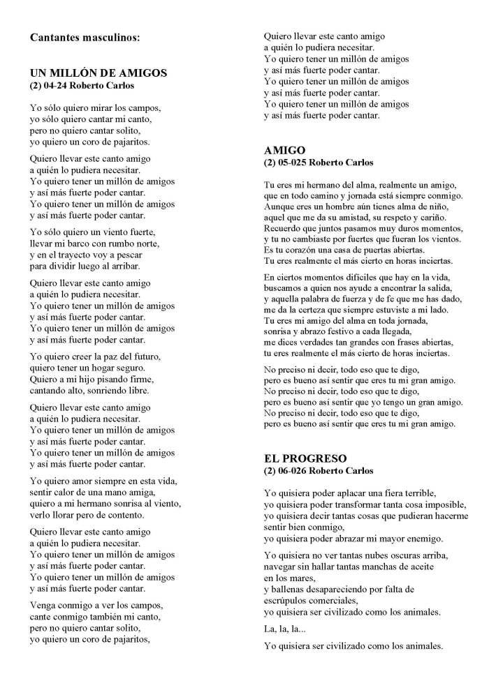 LA SOLIDARIDAD... Nº 8 Letras de canciones..._Página_17