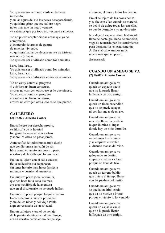 LA SOLIDARIDAD... Nº 8 Letras de canciones..._Página_18