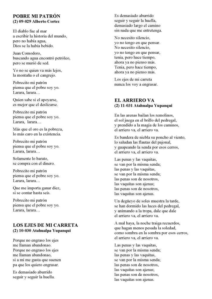 LA SOLIDARIDAD... Nº 8 Letras de canciones..._Página_19