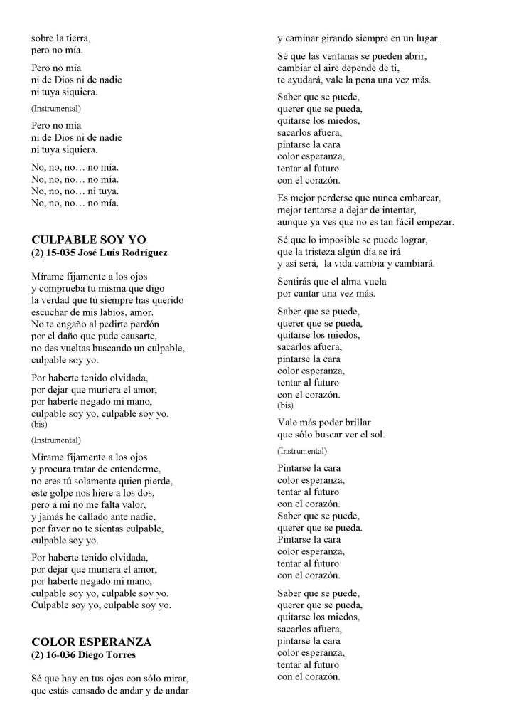 LA SOLIDARIDAD... Nº 8 Letras de canciones..._Página_21