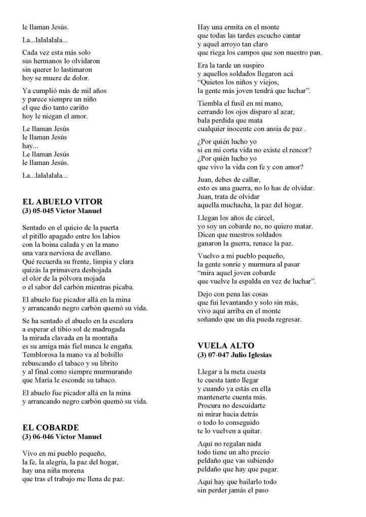 LA SOLIDARIDAD... Nº 8 Letras de canciones..._Página_25