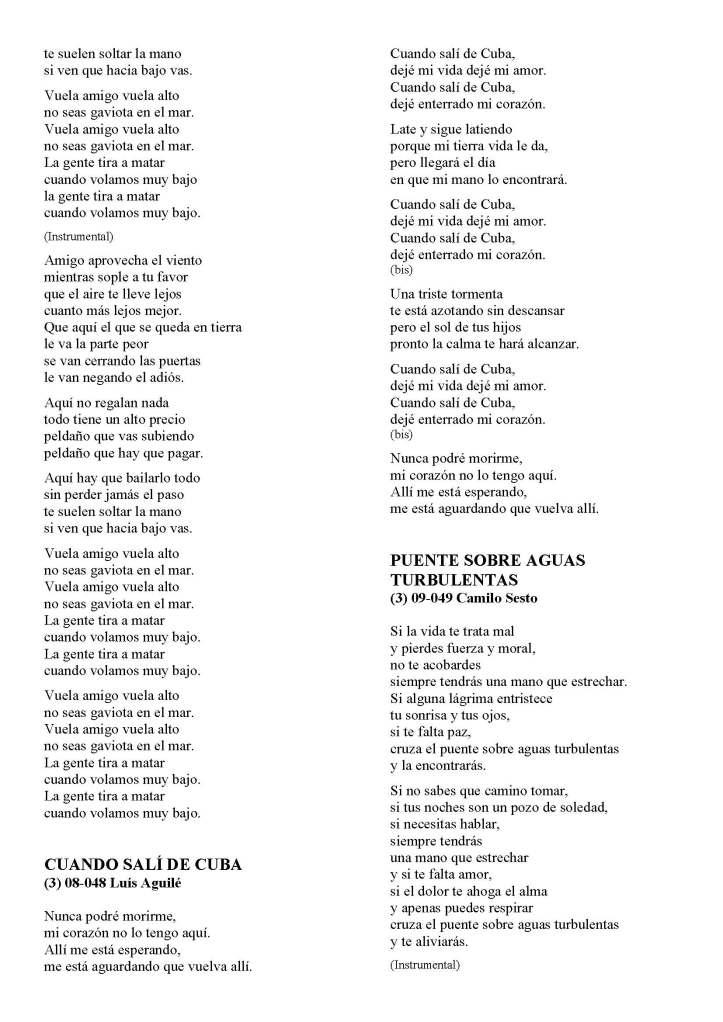 LA SOLIDARIDAD... Nº 8 Letras de canciones..._Página_26
