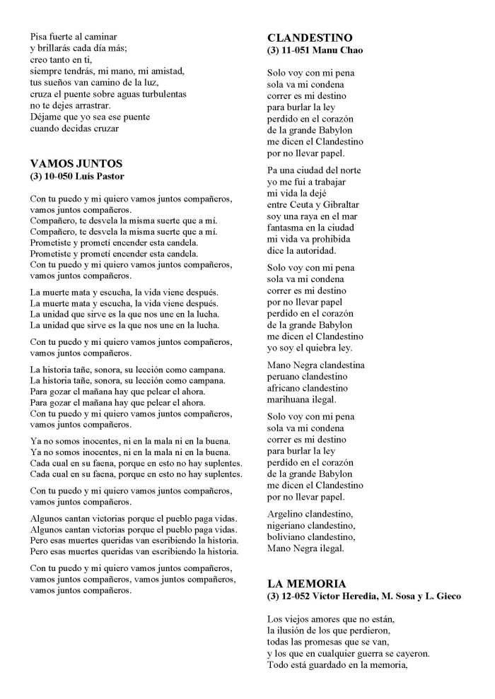 LA SOLIDARIDAD... Nº 8 Letras de canciones..._Página_27