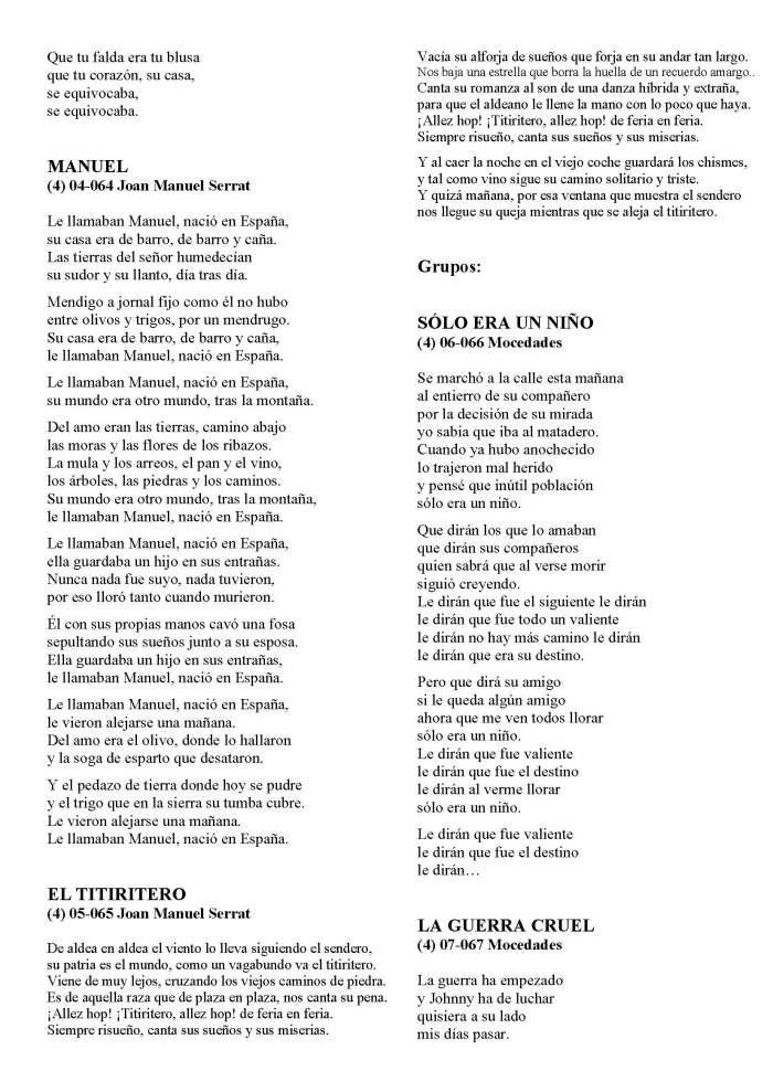 LA SOLIDARIDAD... Nº 8 Letras de canciones..._Página_33