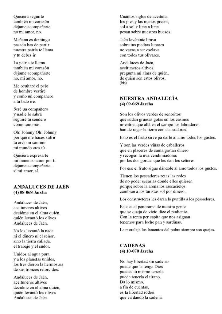 LA SOLIDARIDAD... Nº 8 Letras de canciones..._Página_34