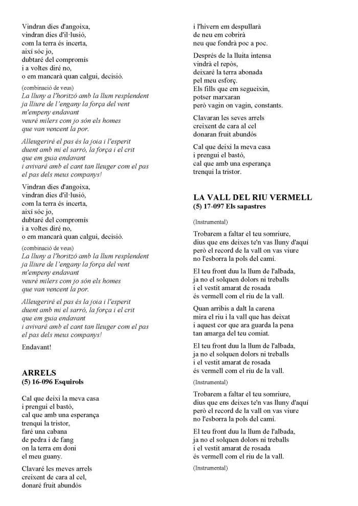 LA SOLIDARIDAD... Nº 8 Letras de canciones..._Página_45