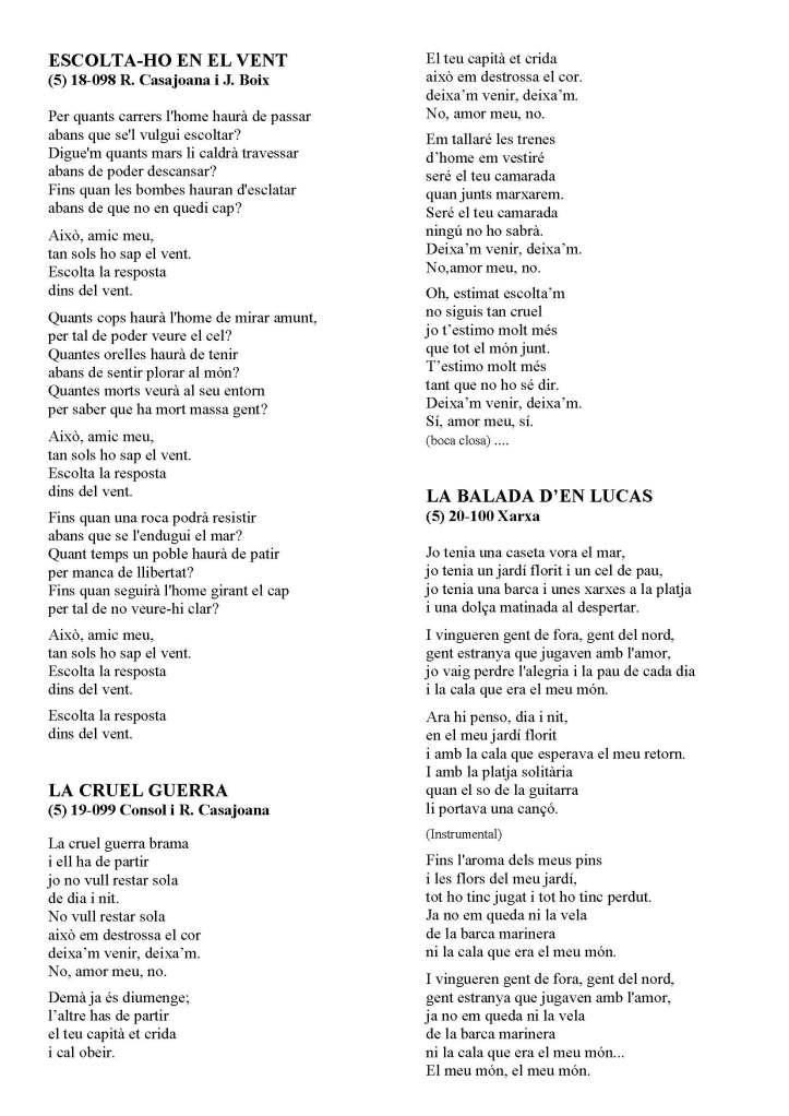 LA SOLIDARIDAD... Nº 8 Letras de canciones..._Página_46