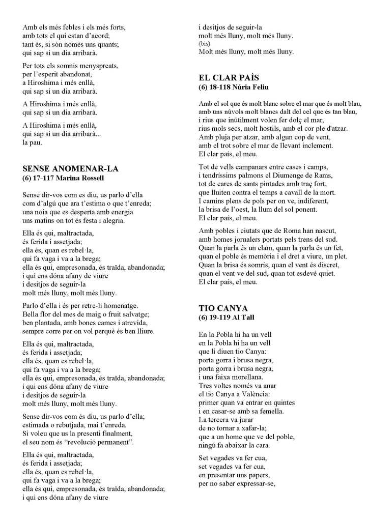 LA SOLIDARIDAD... Nº 8 Letras de canciones..._Página_53