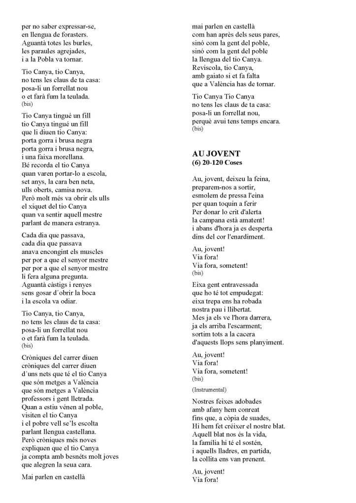 LA SOLIDARIDAD... Nº 8 Letras de canciones..._Página_54