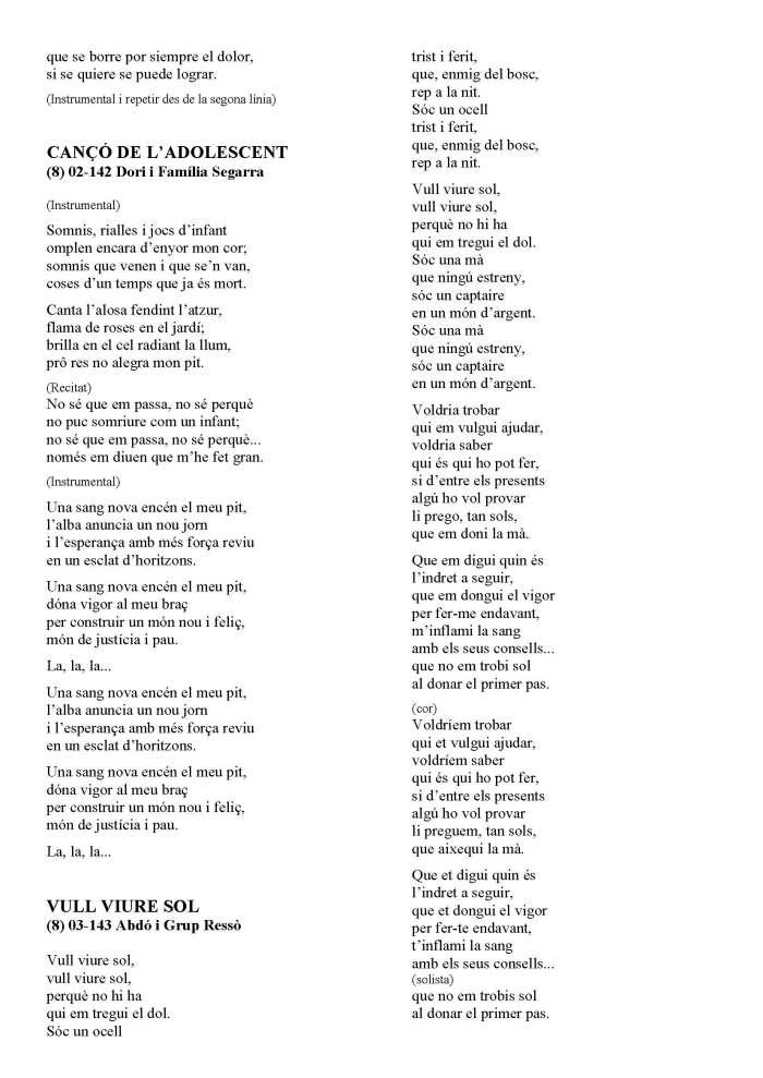 LA SOLIDARIDAD... Nº 8 Letras de canciones..._Página_64